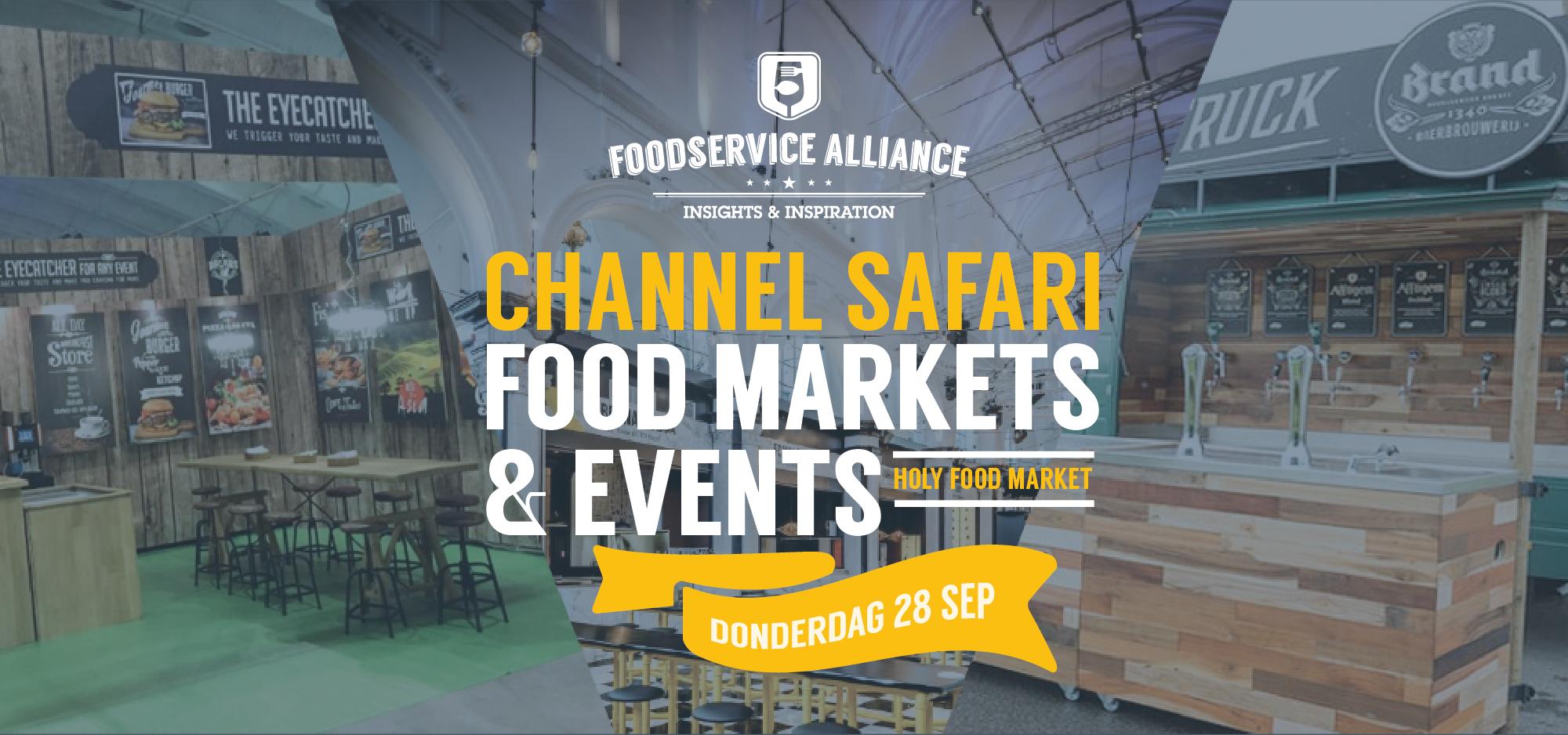 Channel Safari FOOD MARKETS & EVENTS