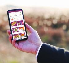 Lancering app om op school broodjes te bestellen