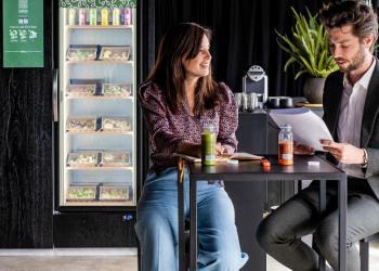 Start-up TASTIES lanceert slimme frigo's voor op het werk