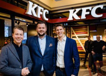 Eerste KFC-restaurant opent in Wijnegem Shopping