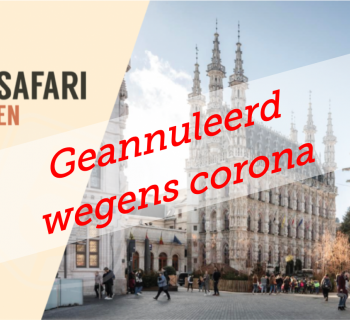 GEANNULEERD: CHANNEL SAFARI HORECA LEUVEN