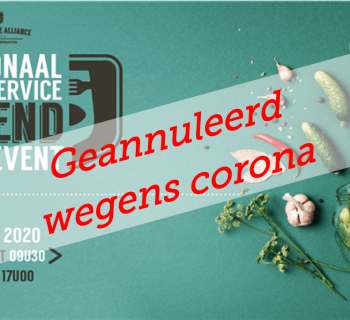 GEANNULEERD: NATIONAAL FOODSERVICE TREND EVENT