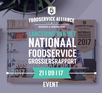 VOORSTELLING EN PRESENTATIE NATIONAAL FOODSERVICE GROSSIERSRAPPORT BELGIE
